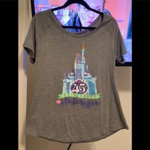 Magic Kingdom 45th anniversary tee